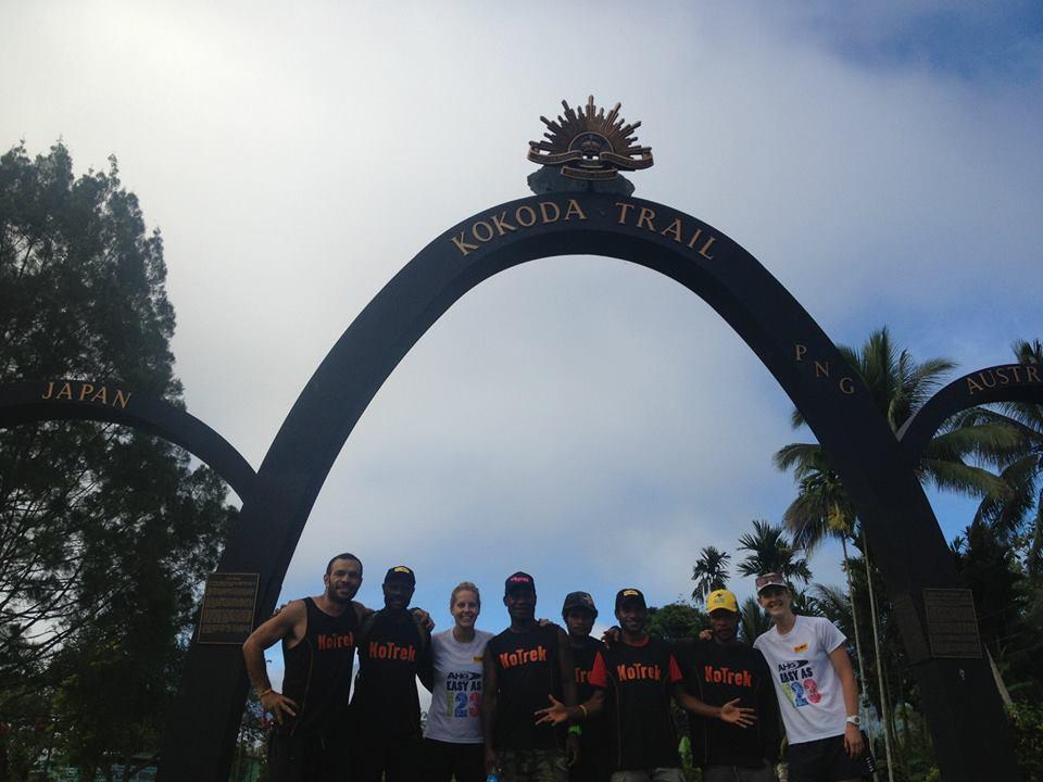 finish line kokoda