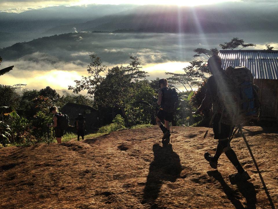 sunrise at nauro village