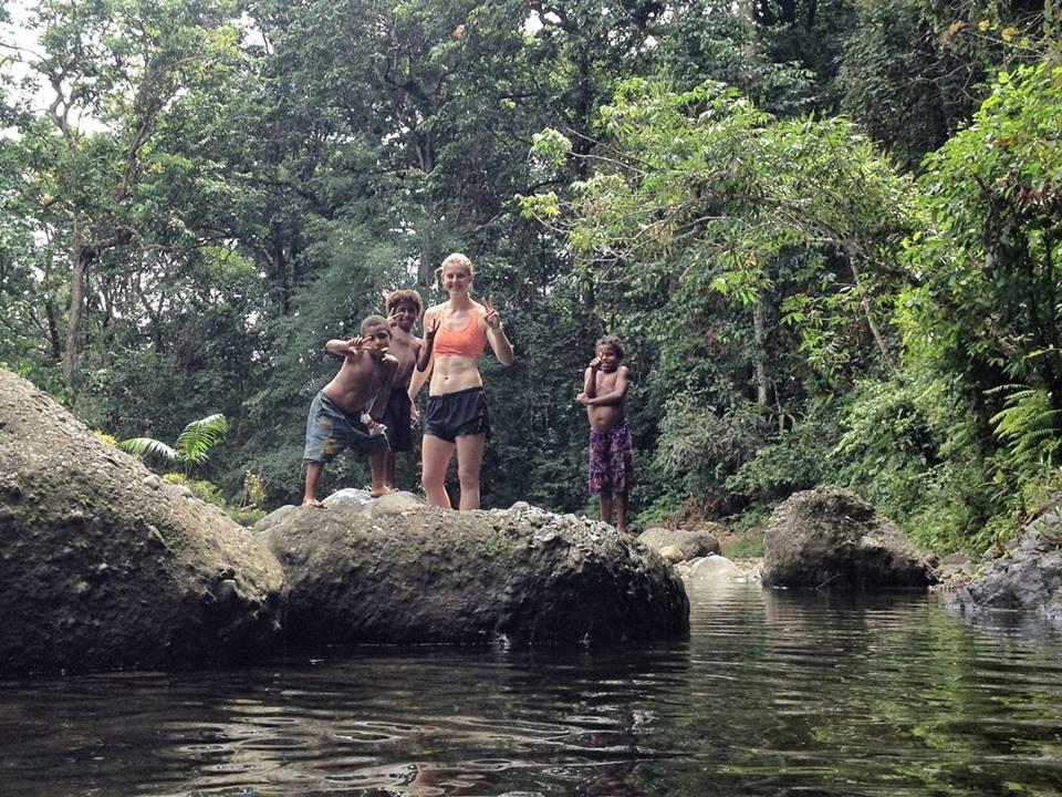 swim with locals