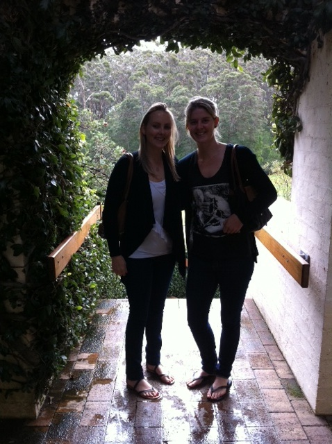 Courts and I at Leeuwin Estate