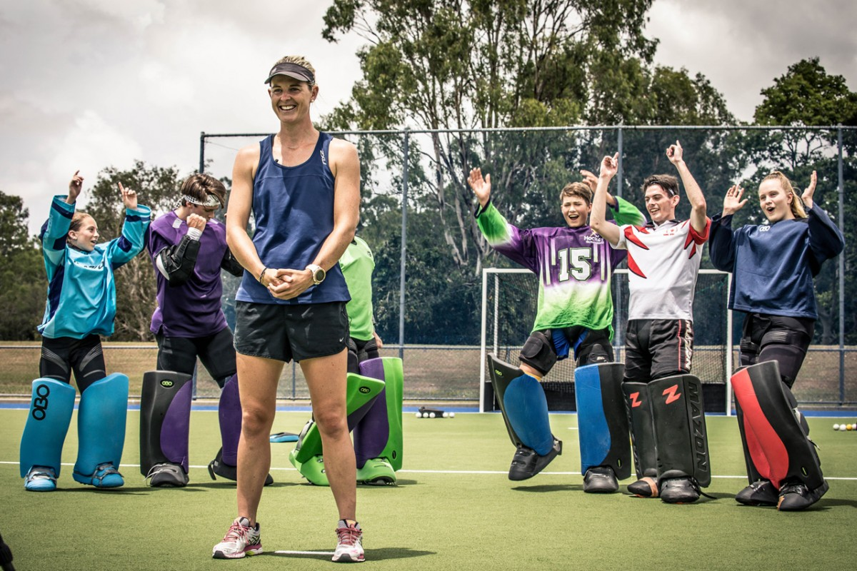 hockey goalkeeper coach