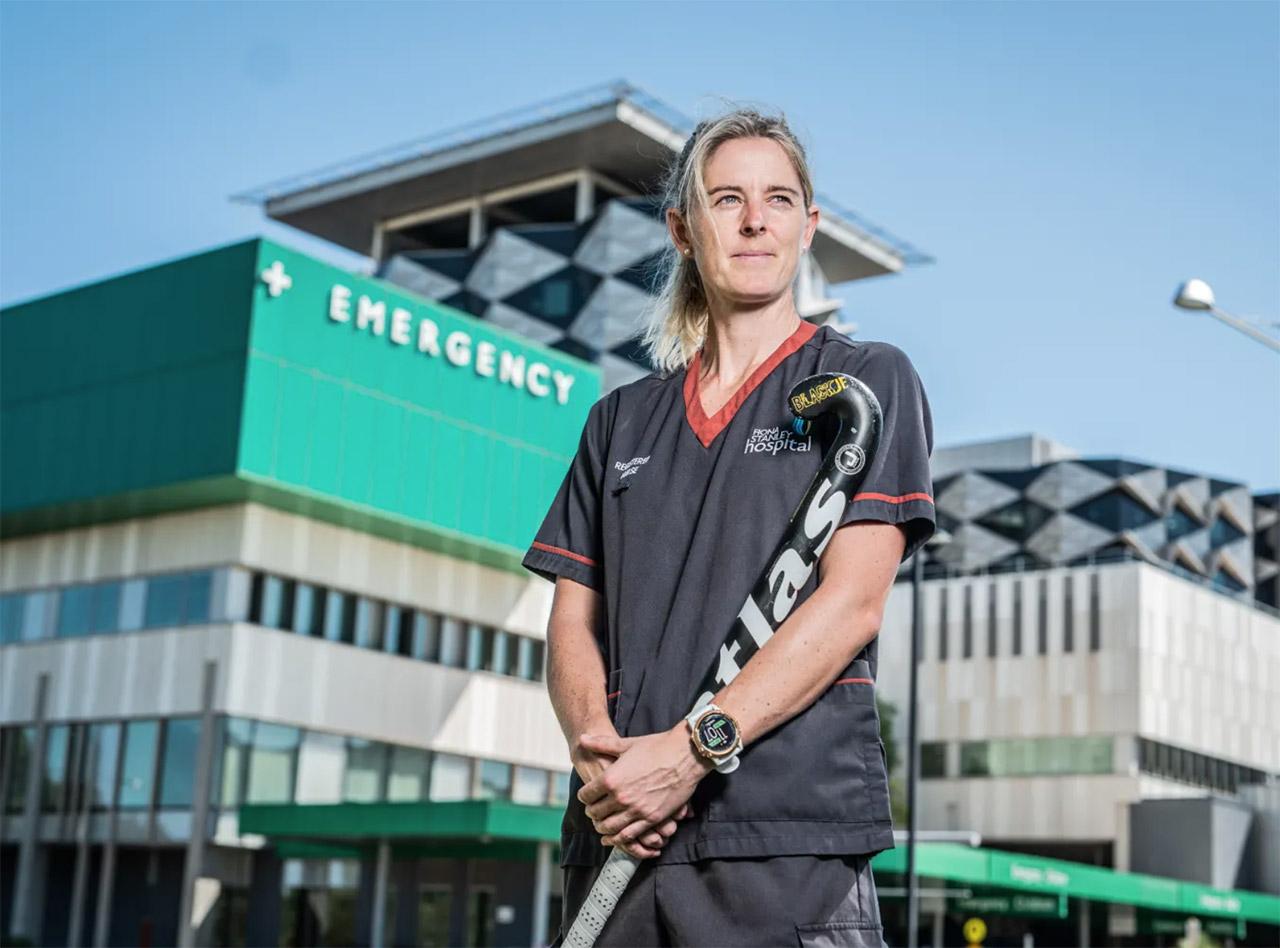 rachael lynch athlete nurse covid