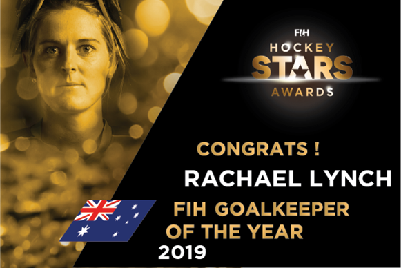 Rachael Lynch crowned 2019 FIH World Goalkeeper Of The Year