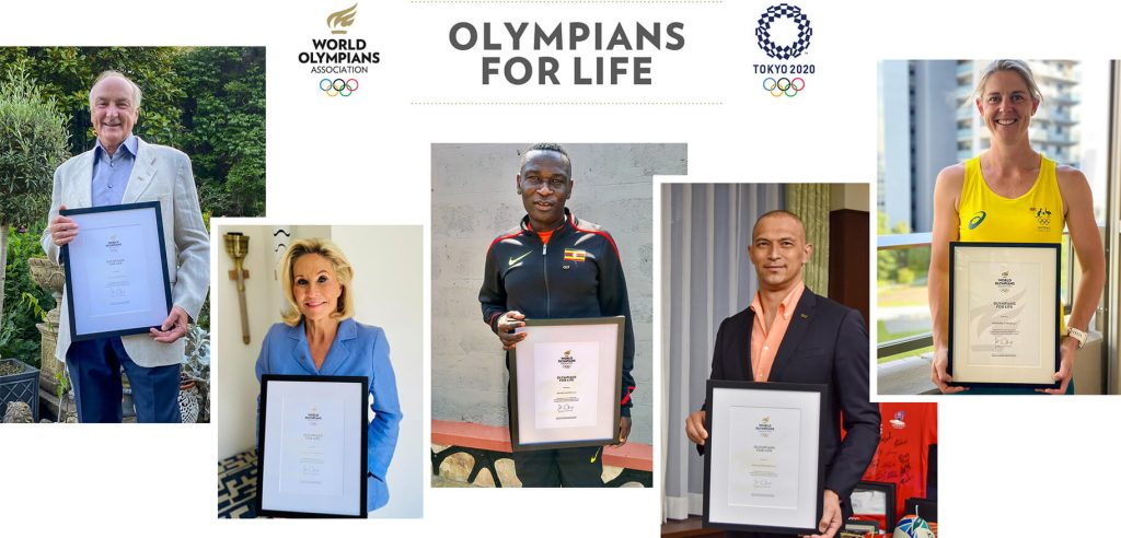 2021 Olympians for life